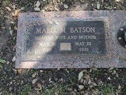 Mabel Marguerite <i>McCaslin</i> Batson
