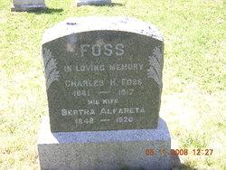 Charles H Foss