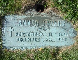 Anna G <i>McAllister</i> Griner