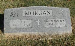 Rev Branson A Morgan