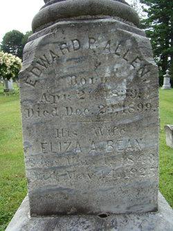 Eliza A <i>Bean</i> Allen