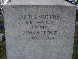John Joseph Jackie Magilton