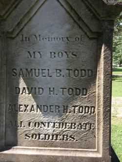 Capt Alexander H. Todd