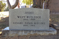 Wiley Blount Rutledge