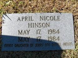 April Nicole Hinson