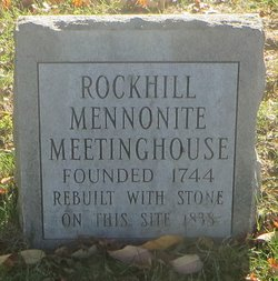 Rockhill Mennonite Church Cemetery