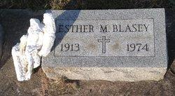 Esther M. Blasey
