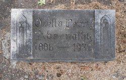 Ozella A. <i>Perry</i> Abernathy