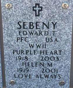 Edward T Sebeny