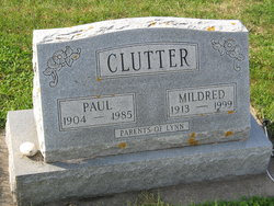 Mammie Mildred Mildred <i>Morgan</i> Clutter