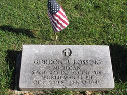 Sgt Gordon Robert Lossing