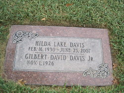 Hilda Lauree <i>Lake</i> Davis