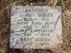 Dorsey Ramsden
