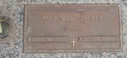 Paul Pete Acker