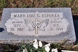 Mrs Mary Lou <i>Griego</i> Esparza