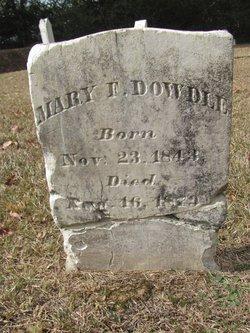 Mary F Dowdle