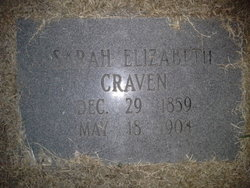 Sarah Elizabeth <i>Crapps</i> Craven
