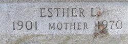 Esther L <i>Wehmueller</i> Eberhardt
