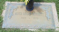 Edith Alice <i>Logan</i> Bennett