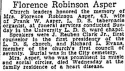 Florence Elinor <i>Robinson</i> Asper