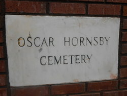 Oscar Hornsby Cemetery