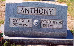 Dorothy <i>Ward</i> Anthony