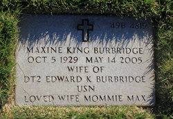 Maxine <i>King</i> Burbridge