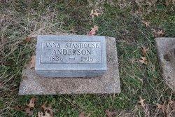 Anna <i>Stanhouse</i> Anderson