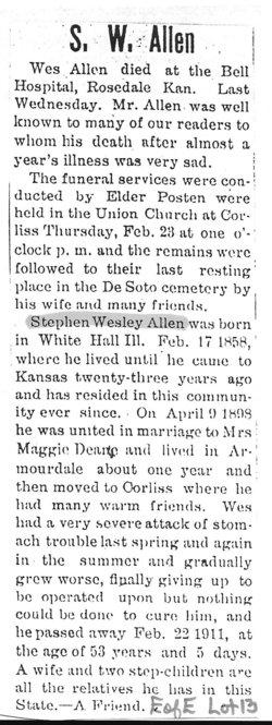 Stephen Wesley Allen