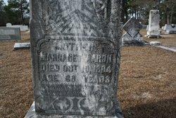 Margaret Betsy <i>Johnson</i> Aaron