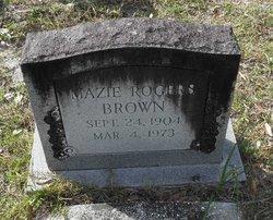 Mazie <i>Rogers</i> Brown
