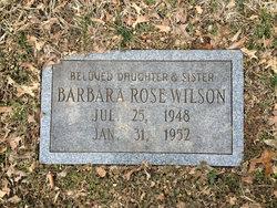 Barbara Rose Wilson