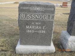 Mariah Edith Russnogle