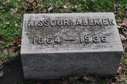 Missouri Sizzie <i>Myrick</i> Allmen
