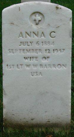Anna C. <i>Carroll</i> Barron