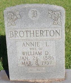 Annie Louella <i>Massengill</i> Brotherton