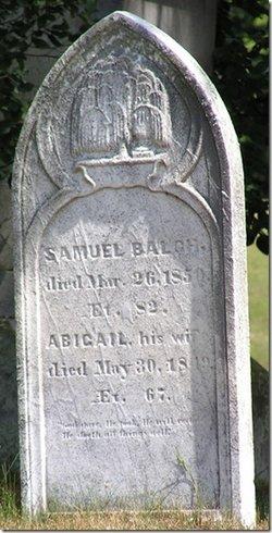 Abigail <i>Bartlett</i> Balch