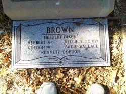 Sadie <i>Wallace</i> Brown