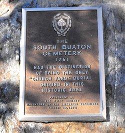 South Buxton Cemetery
