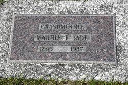Martha F <i>Thompson</i> Tade