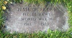 Pvt Jesse T Akers