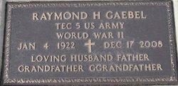 Raymond Henry Ray Gaebel