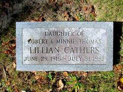 Lillian <i>Thomas</i> Cathers