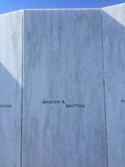 Marion Ruth Britton