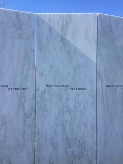 Jean <i>Hoadley</i> Peterson