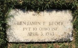 Benjamin F Broer