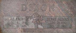 Henry Auldous Dixon