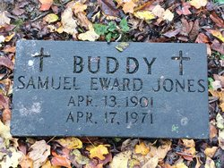 Samuel Edward Buddy Jones