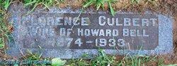 Florence <i>Culbert</i> Bell