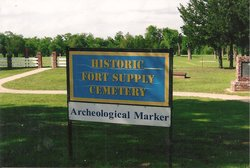 Fort Supply Hospital Cemetery